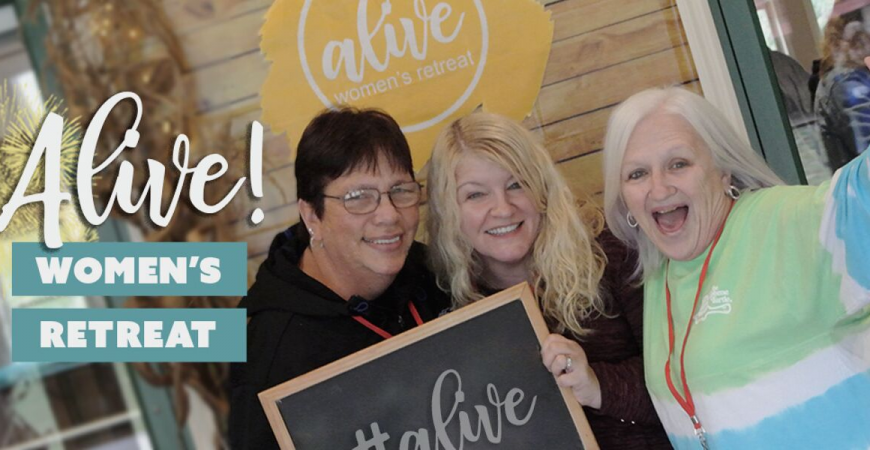 Alive! Women's Retreat at Camp Orchard Hill