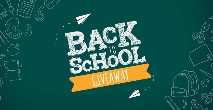Back to School Giveaway Winners