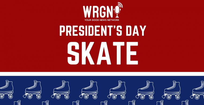 WRGN's President's Day Skate